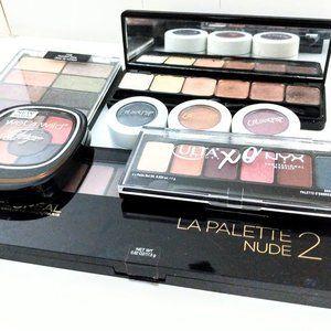 Eyeshadow palette mega bundle (used)